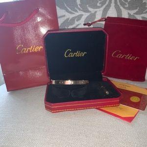 Authentic Cartier Bracelet 18K Rose Gold